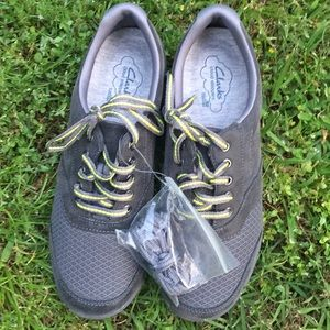 Clark's Grey Cloud Stepper Soft Cushion Shoe
